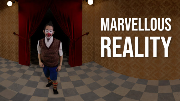 Marvellous Reality – 360 CGI+Real-life footage research project